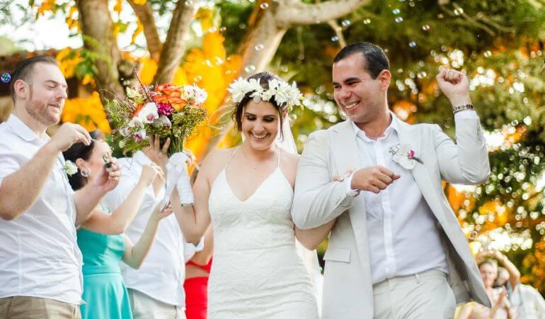 Vestido de casamento Celta