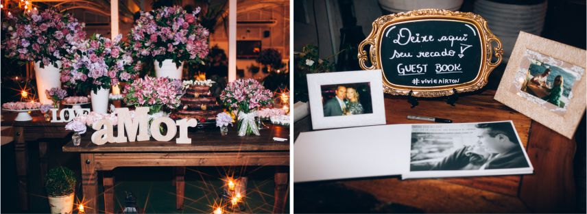 Mini Wedding - Decoração