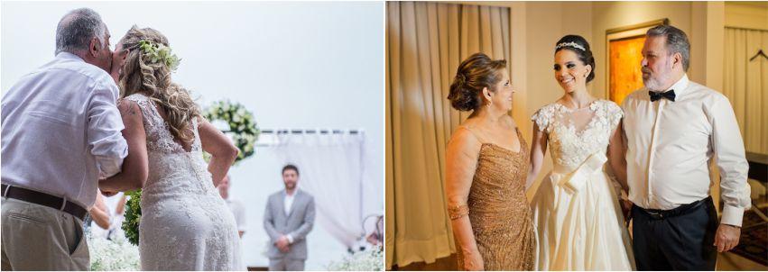 Pais, mães e avós dos noivos