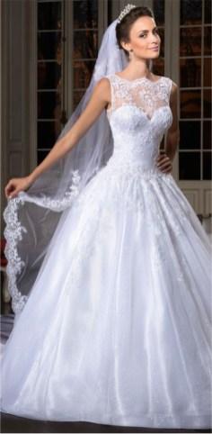 Vestido de Noiva - Corpo Ampulheta