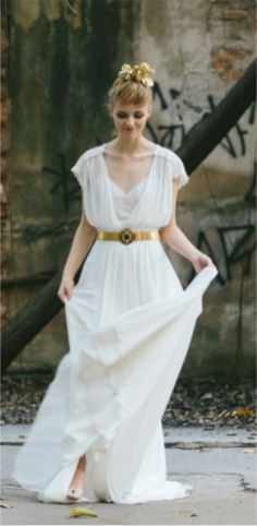 Vestido de Noiva - Retângulo