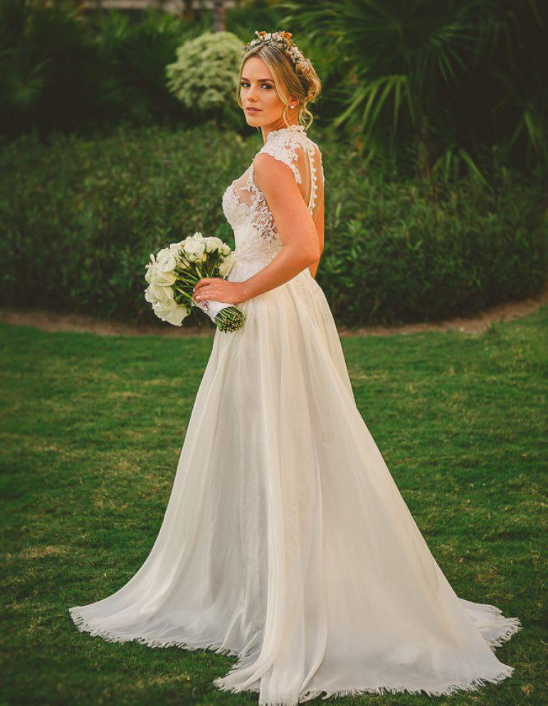 Vestido de noiva Thaeme Curto