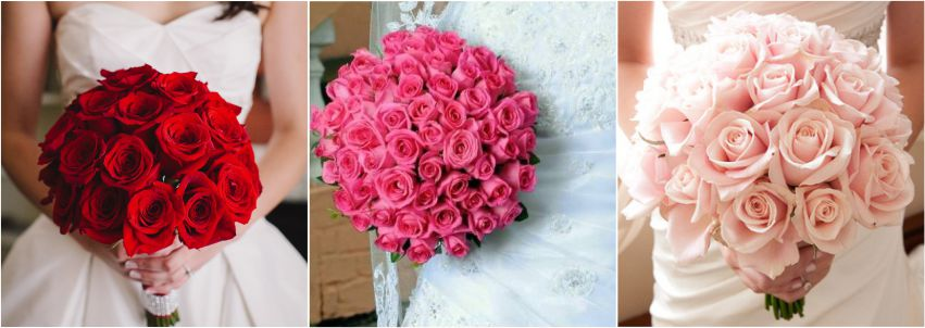 Buque de flores: Rosas
