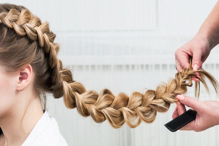 Penteados para madrinhas de Casamento com Trança