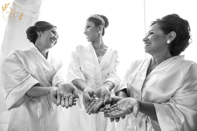 Colar de Mãe, Noiva e Irmã da Noiva