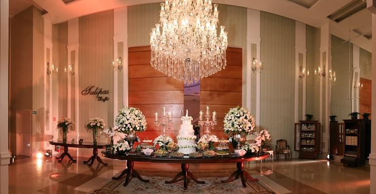 Decoração de Casamento Clássico - Caroline e Thiago