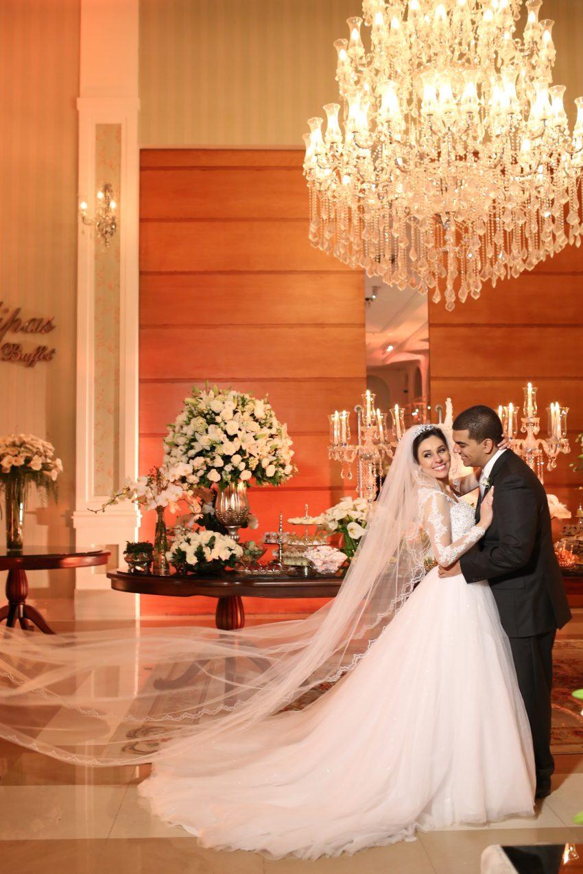Noivos Casamento Clássico - Caroline e Thiago
