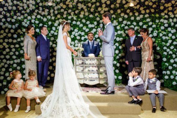 Decoração da Cerimônia de Casamento Thomaz Bellucci e Gabriela Cabrini