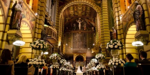 Igreja para Casamento - Mosteiro de São Bento