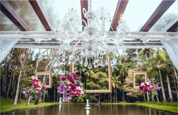 Decoração de Cerimônia de Casamento Romântico