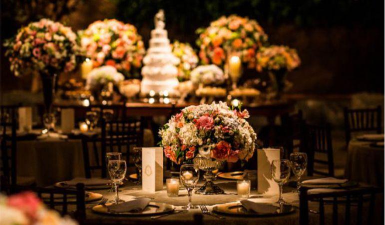 Decoração da Festa de Casamento