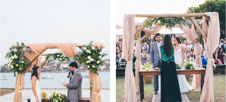 Decoração de Altar de Casamento