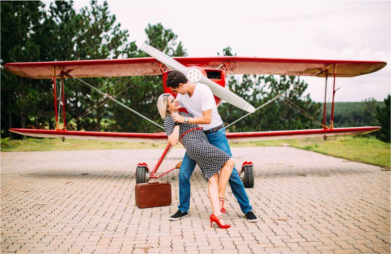 Pré-wedding nas alturas!