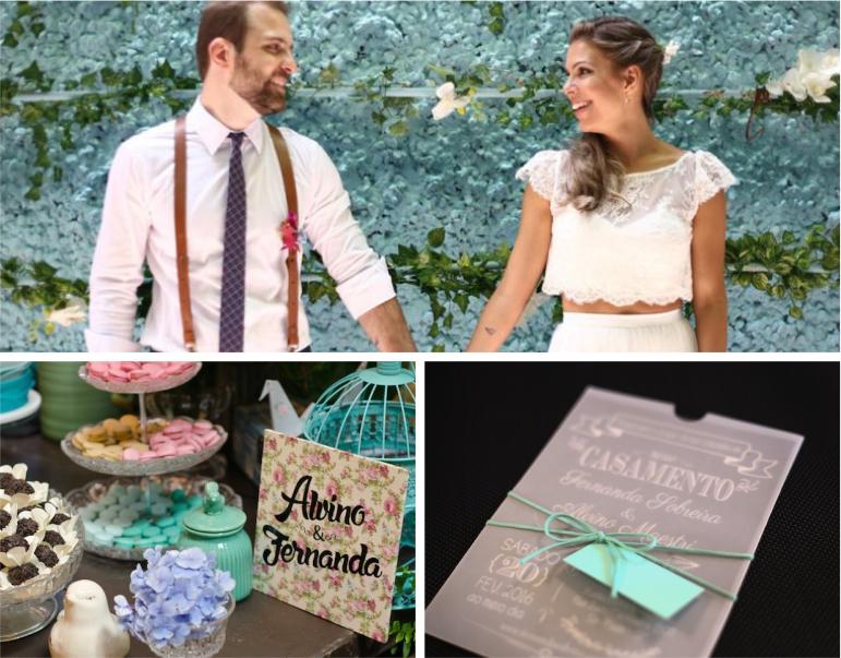 Decoração para Mini Wedding - Vintage