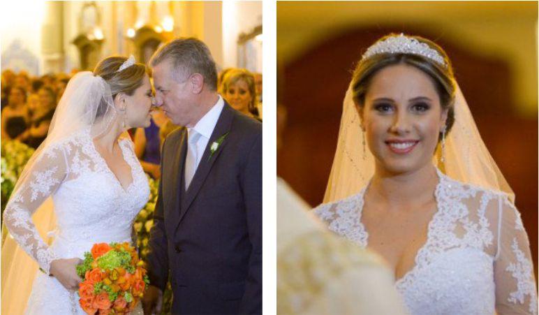 Penteado de noiva ClássicaPenteado de noiva Clássica