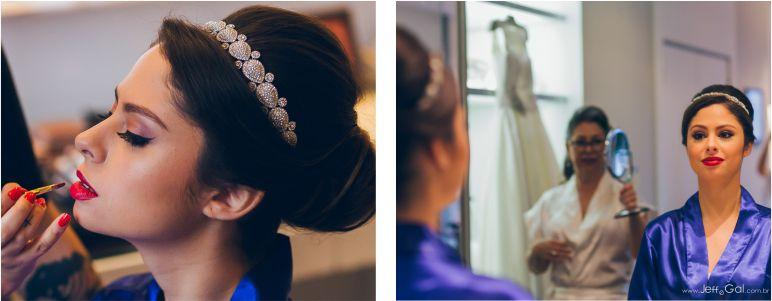 Penteado de noiva sofisticado