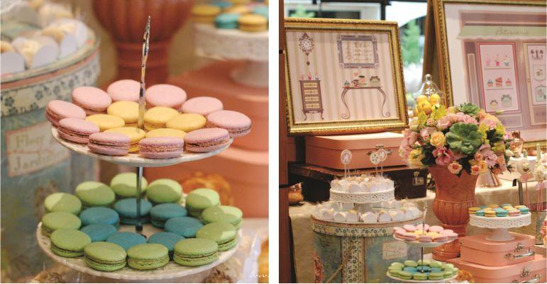 Decoração Chá de Lingerie Paris