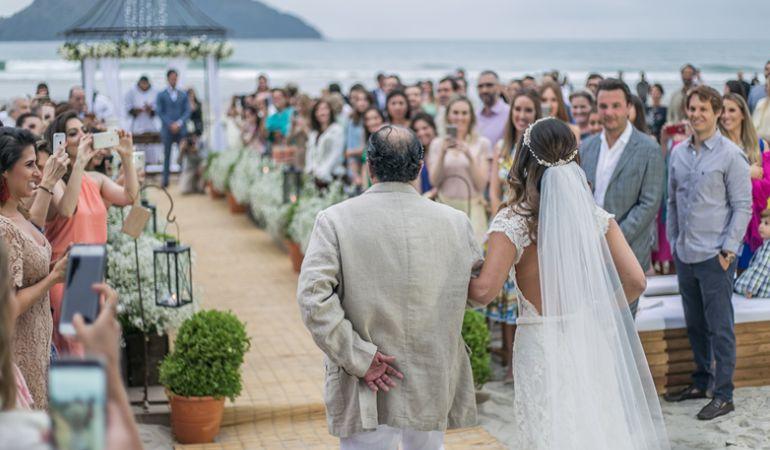 Paloma Tocci - Casamento na praia