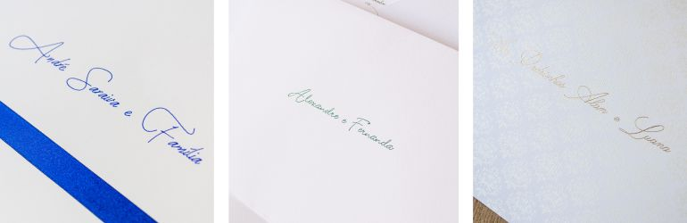 Caligrafia de convite - Craft caligrafia
