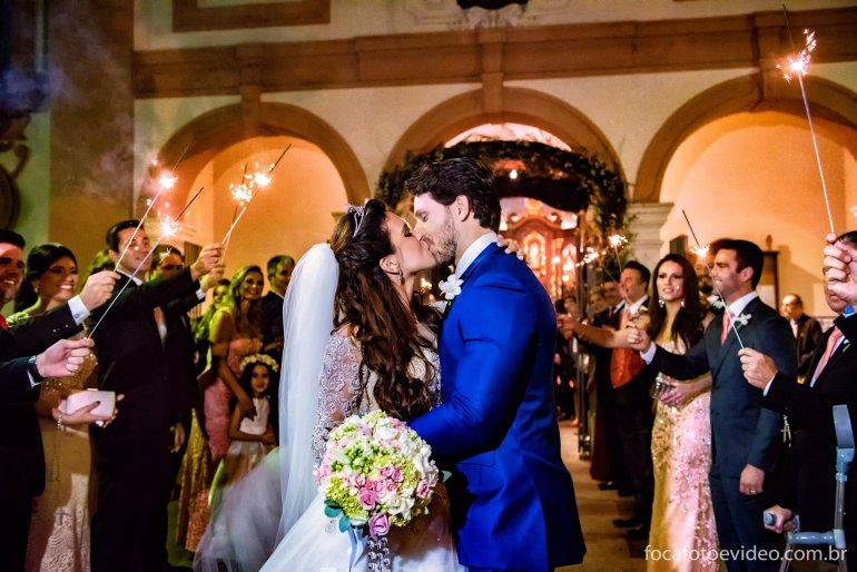 Kamilla e Eliéser: Casamento de Luxo