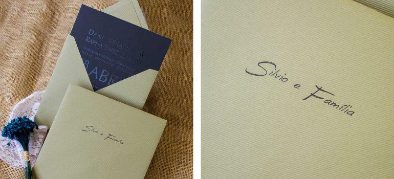 Convites Papel e Estilo com caligrafia