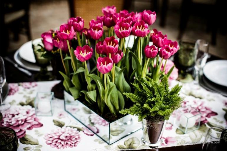 Flores para Casamento - Tulipas