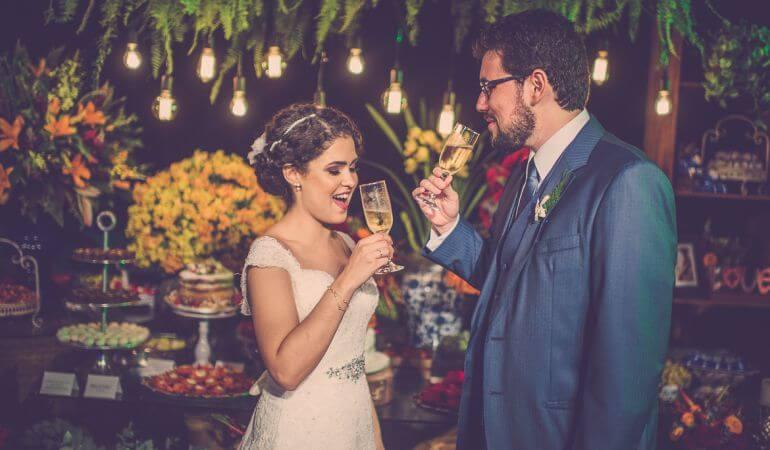 Luz de Gambiarra casamento