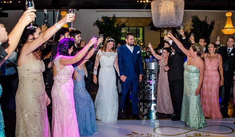 Festa de casamento Priscila e Fábio
