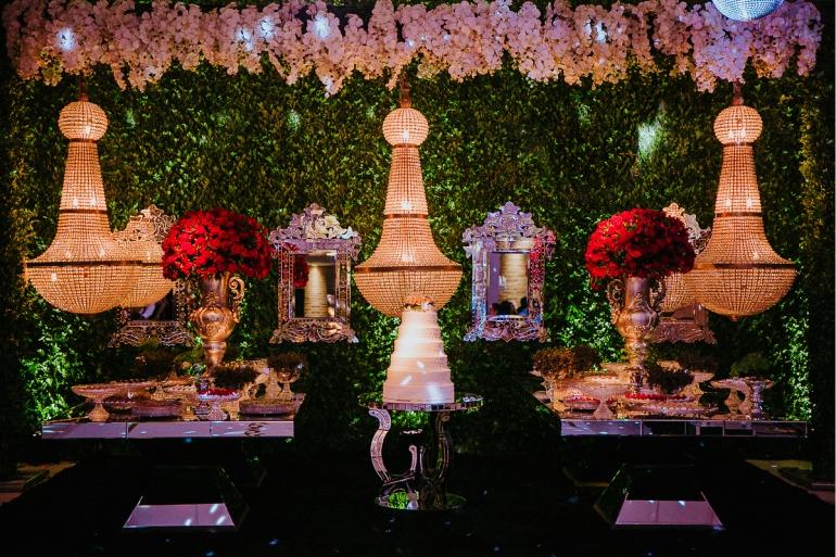 Festa de Casamento Ao Ar Livre Clássico