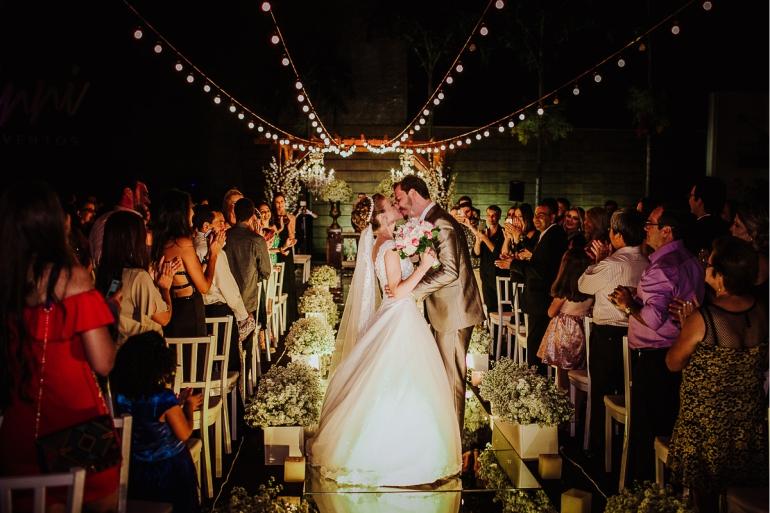 Cerimônia de Casamento Ao Ar Livre Clássico