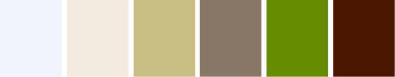Paleta de cores neutra