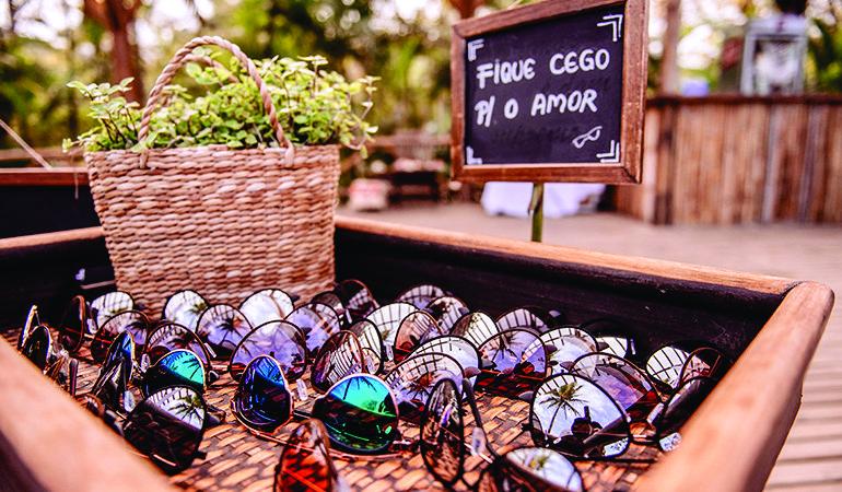 Oculos de sol para casamento