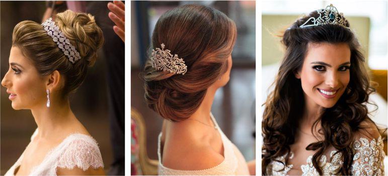 Penteados para casamento classico