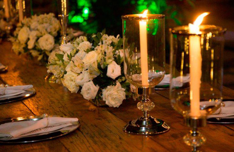 Casamento a luz de velas