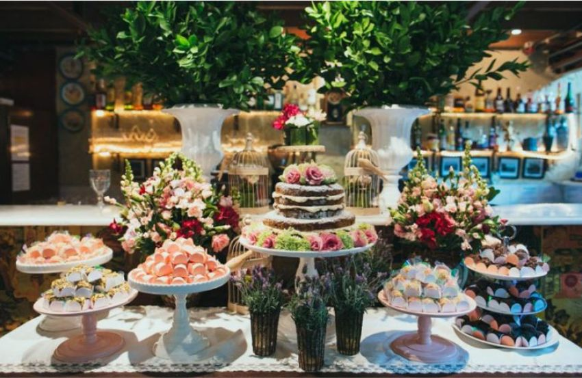 Buffet de Casamento para Mini wedding