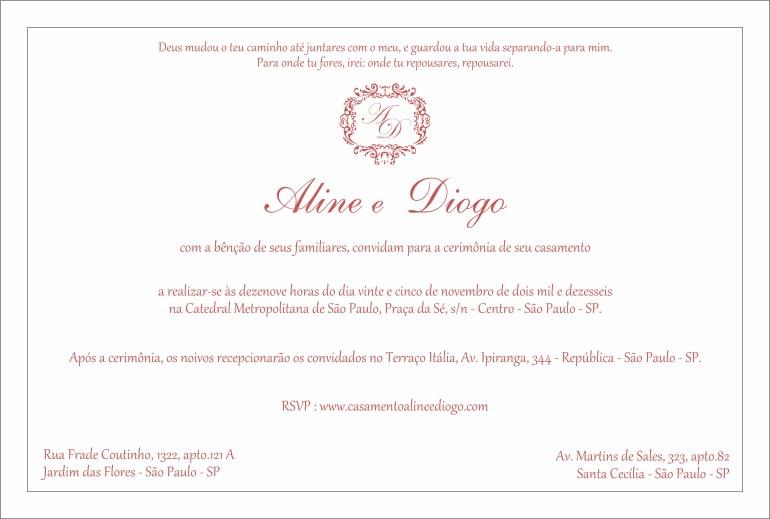Como Escrever O Convite De Casamento Aceito Sim