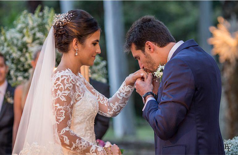 Cerimonia de casamento