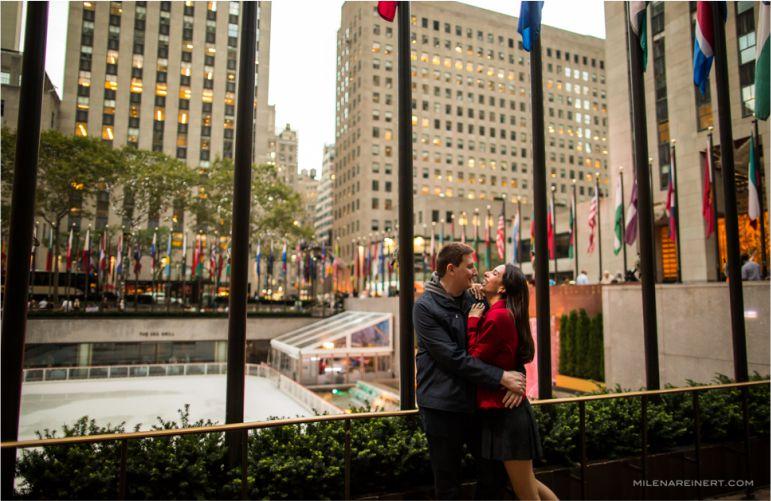 Noivos em Nova York