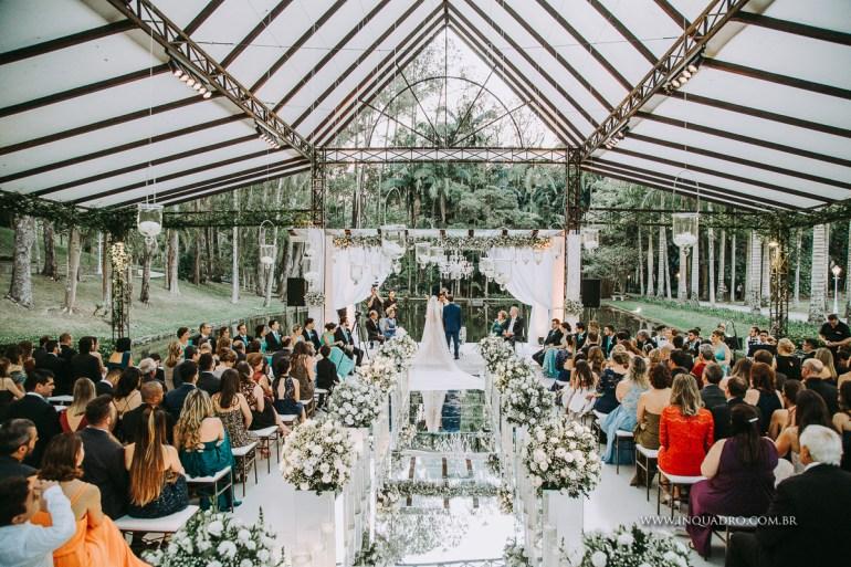 Casamento clássico ao ar livre