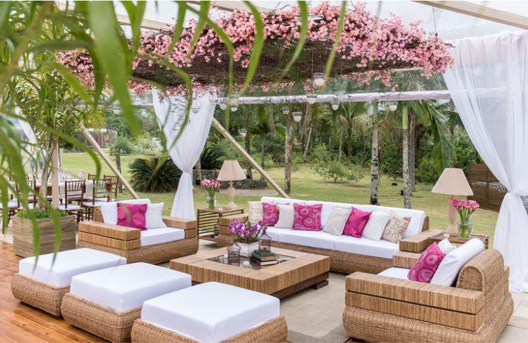Lounge Cor de Rosa