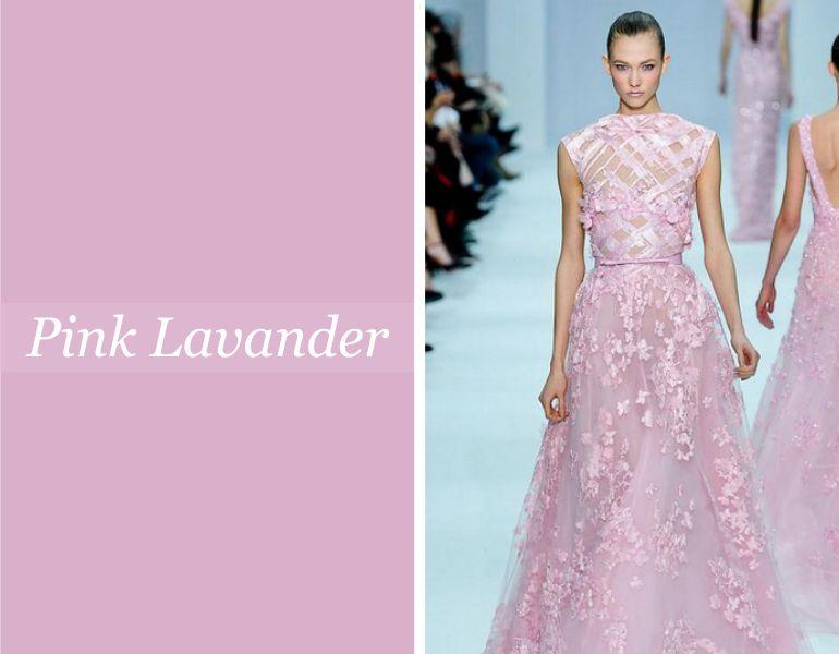 Tendências para vestidos de festa: Pink Lavander