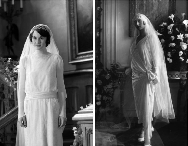 Vestido de noiva anos 20
