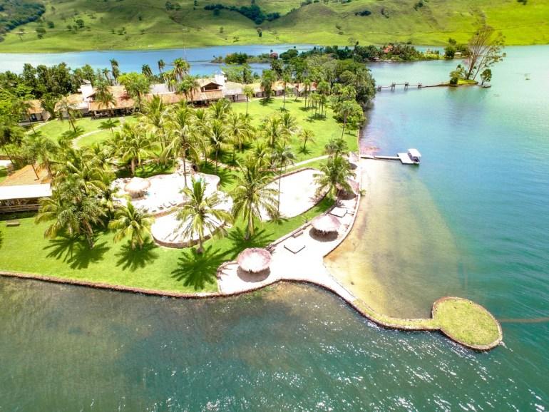 Ilha para casamento particular