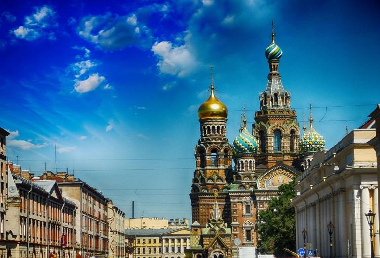 Catedral do derramado São Petersburgo