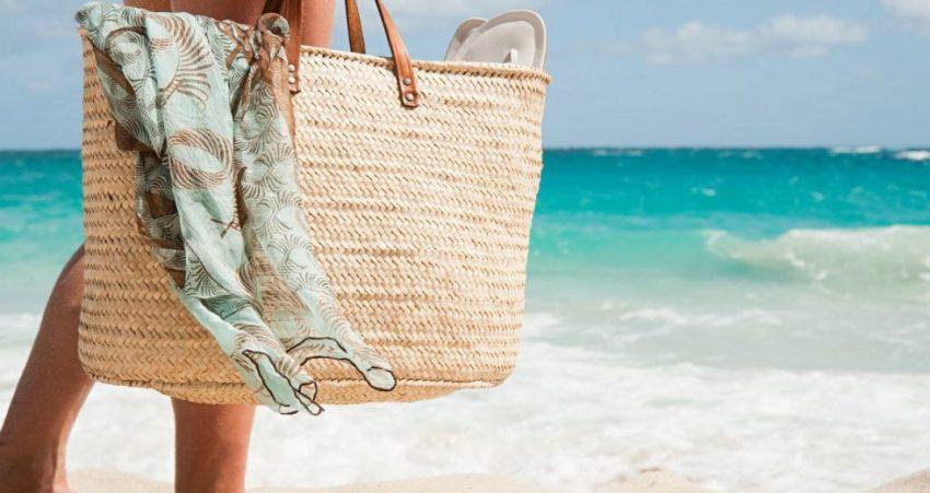 Bolsa de praia lua de mel
