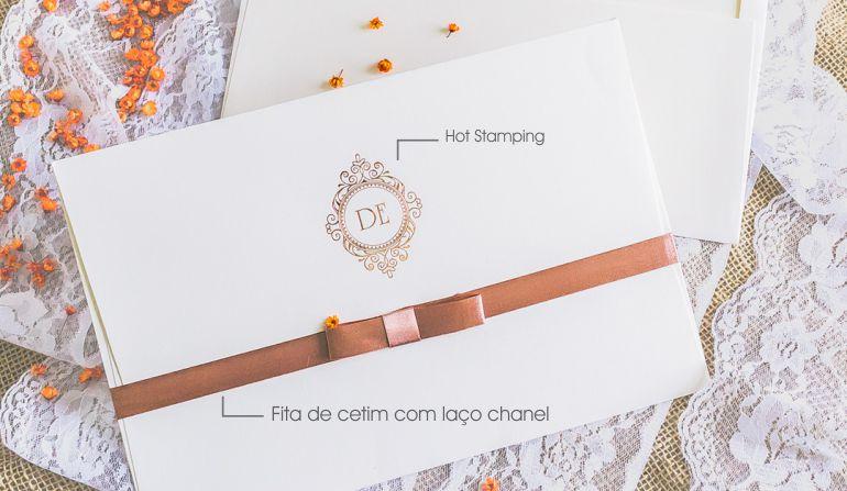Como fazer convites de casamento clássico