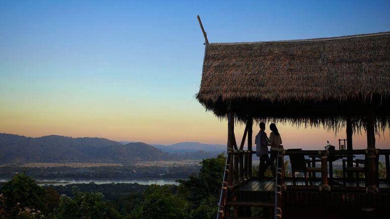 Hotéis mais românticos para a lua de mel Anantara Golden Triangle Elephant