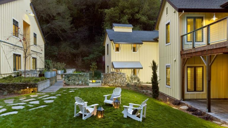 Hotéis mais românticos para a lua de mel Farmhouse Inn