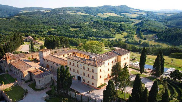 Hotéis mais românticos para a lua de mel Castelo de Casole