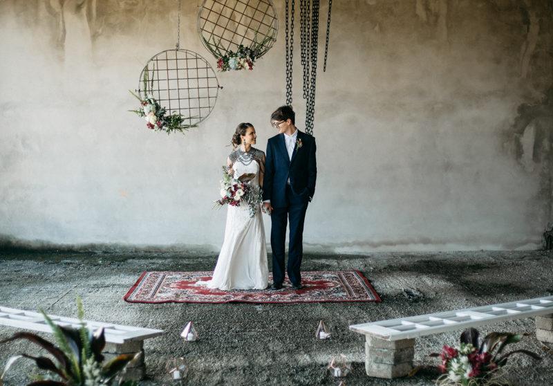 Casamento industrial - inspiração para casamento simples